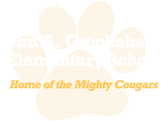 John A. Crookshank Elementary School - Home of the Mighty Cougars